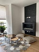 Sample - KinglySlate Flexible Natural Stone Veneer Sheet Black Slate - Sample