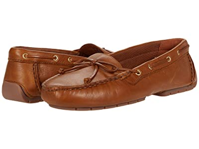 Clarks C Mocc Boat (Tan Leather) Women