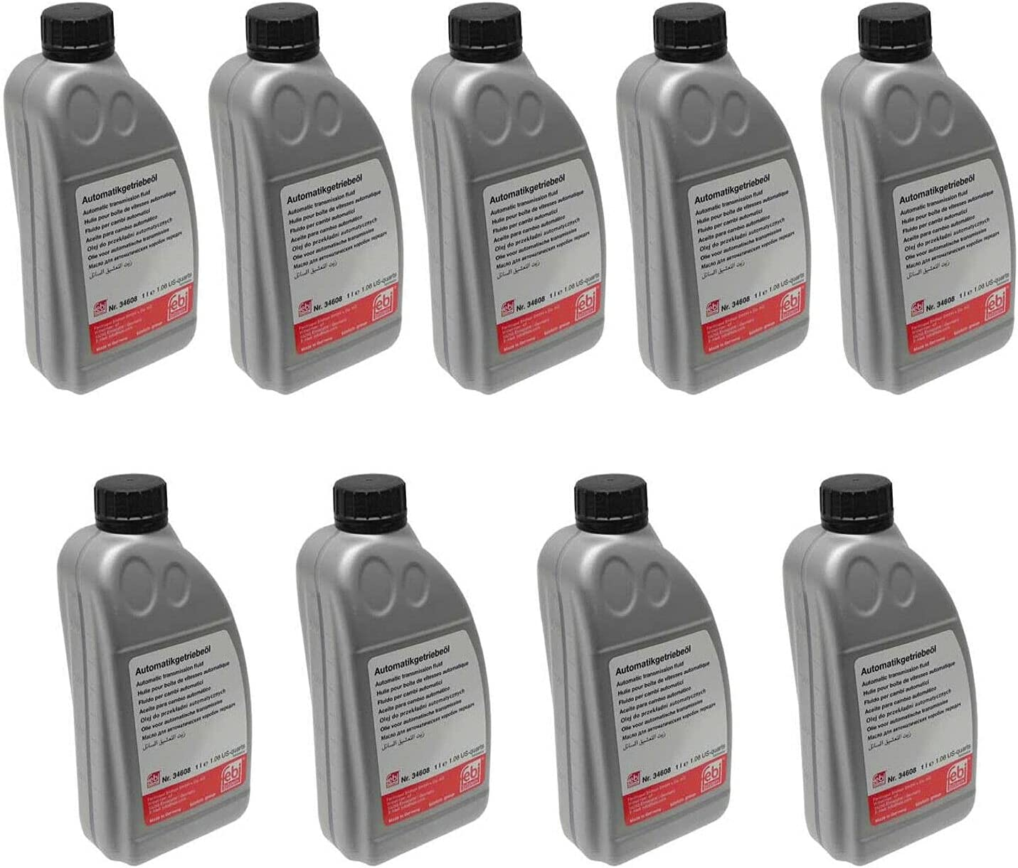 Set Ranking TOP12 of 9 ATF Automatic Transmission Super-cheap Fluids GA6HP Compatible with