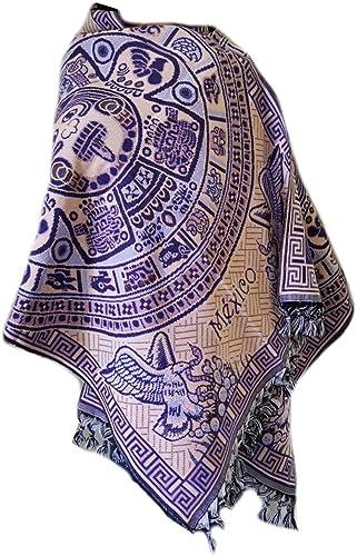 Pashmina shawl Embroidered shawl Mexican shawl Winter rebozo Mexican scarf