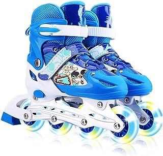 Roller Skating الزلاجات المضمنة في الهواء الطلق الرياضة الزلاجات الأسطوانة قابلة للتعديل الأطفال التتبع للأطفال بنين بنات ...