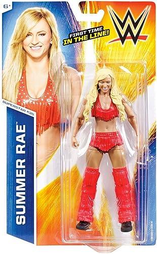 bajo precio del 40% MATTEL WWE WWE WWE FIGURAS BASICAS SUMMER RAE  producto de calidad