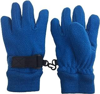 N'Ice Caps Little Kids Warm Sherpa Lined Easy-On Fleece Gloves
