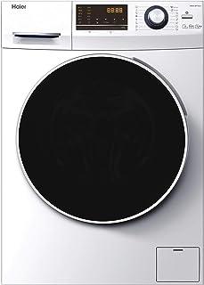 Haier HWD90-BP14636-S - Lavadora secadora 9 kgs + 6 kgs secado, 1400rpm, Motor Inverter, ABT Antibacterias, Libre instalac...