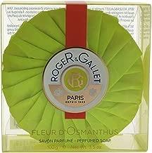 Roger & Gallet Fleur D'Osmanthus Bar Soap for Unisex, 3.5 Ounce