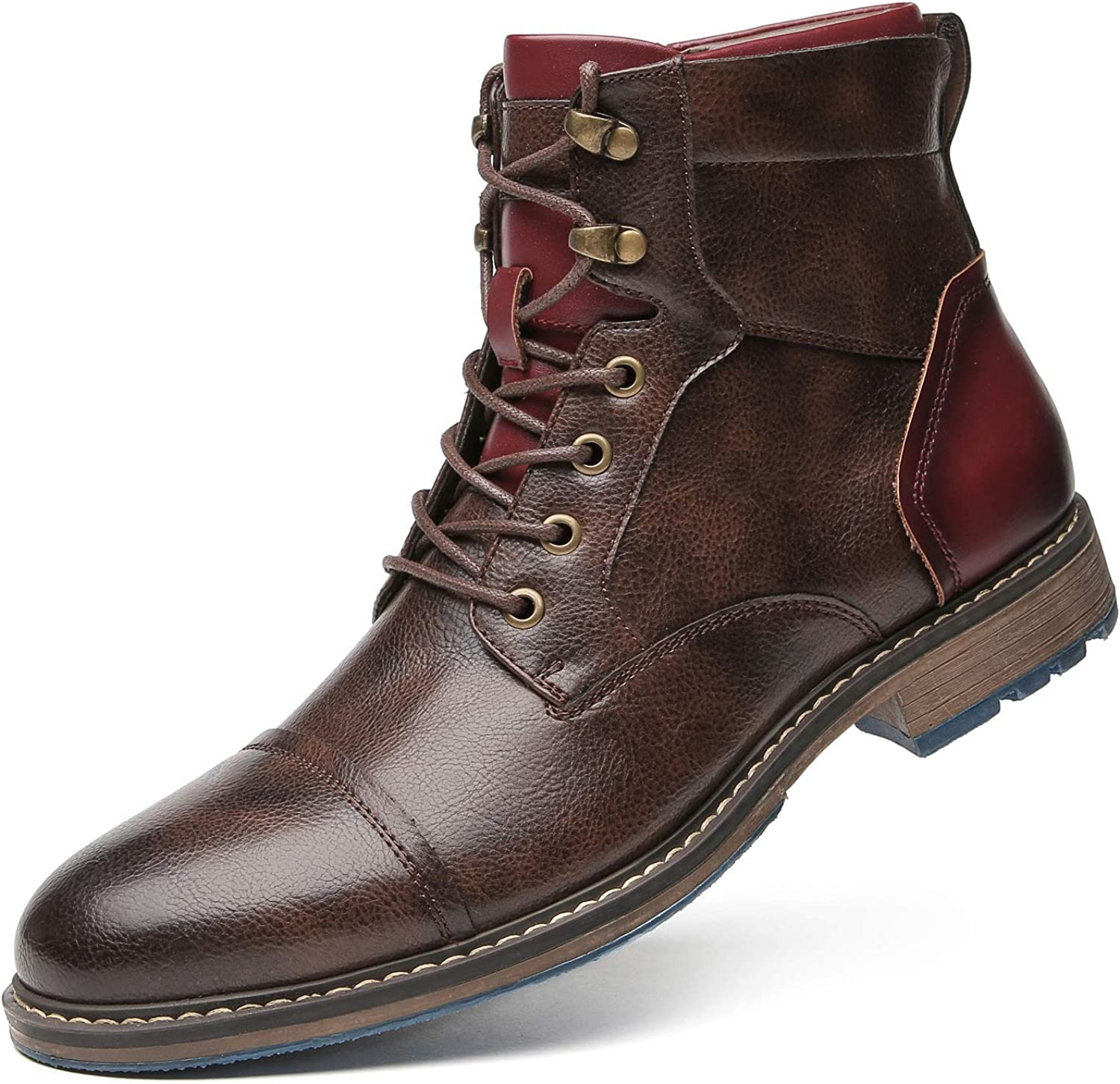Motorcycle Combat Work Boots for Man - Casual Oxford Boots mens
