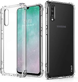comprar comparacion J&D Compatible para Galaxy A70 Funda, Cojín de Esquina Ligero Ultra-Clear Protector de Silicona de Choque Delgado y ...