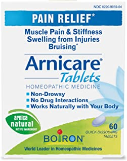 Boiron - Arnicare Arnica Tablets, , 60 quick dissolving tabs [Health and Beauty]