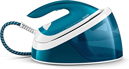 Philips PerfectCare Compact Essential Steam Generator Iron with 1.3L Fixed Water Tank, OptimalTEMP Technology & up to...