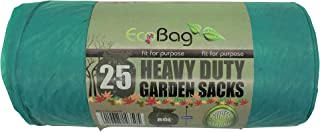 Sponsored Ad – EcoBag 25 x Heavy Duty Garden Sacks, Green, 233