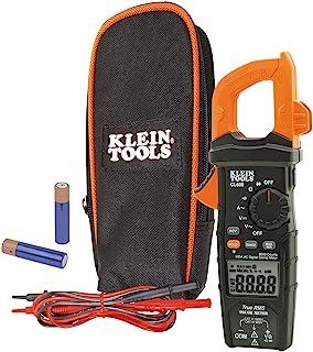 متر اندازه گیر دیجیتال AC / DC خودکار مقیاس 600 آمپر اندازه گیری ولتاژ، مقاومت، بیشتر Klein ابزار CL600