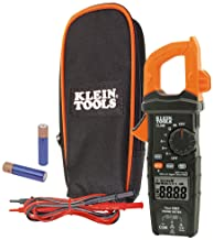 Klein Tools CL600 Electrical Tester, Digital Clamp Meter has Autorange True RMS, Measures..