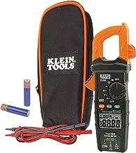 Klein Tools CL600 Electrical Tester, Digital Clamp Meter has Autorange True RMS, Measures AC Current, AC/DC Voltage, Resistance, More