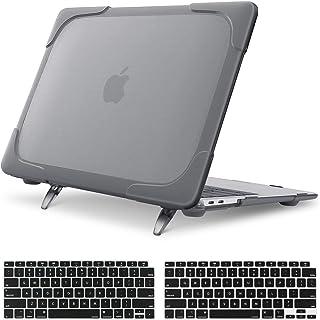 MOSISO Funda Dura Compatible con 2020 2019 2018 MacBook Air 13 A2337 M1 A2179 A1932, Tarea Pesada Carcasa Protectora de Pl...