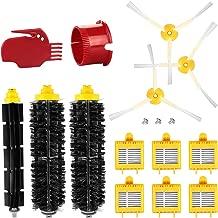 2 Spazzola Laterale GeekerChip Accessori di Ricambi XIAOMI Mi Parti di Ricambio per aspirapolvere Robot,1 Spazzola Principale 4 Filtri HEPA 1 Strumento di Pulizia 2 Viti gratuite