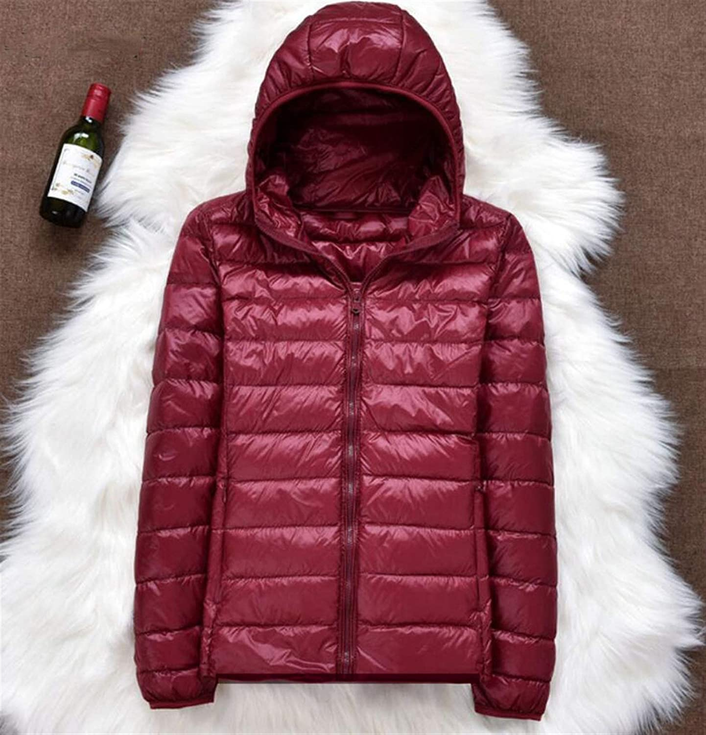 Thickened Down Jacket Leather Plaid Ultra Great interest Coat Winter Ranking TOP17 New Light