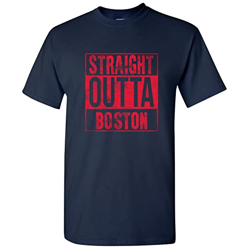 UGP Campus Apparel Straight Outta Hometown Pride Mens T-Shirt 322277a82