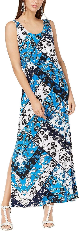 INC International Concepts Printed Maxi Dress