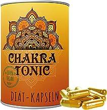 Original Chakra Tonic Hollywood Kapseln Natürliche Diäthilfe Abnehmen ohne Koffein 180..