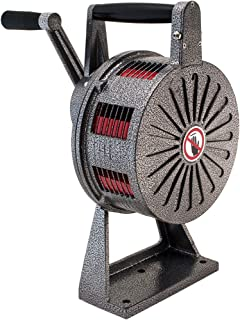 Vixen Horns Loud Heavy Duty Base Mount Hand/Manual Crank Alarm/Siren (Air Raid) VXS-1200M