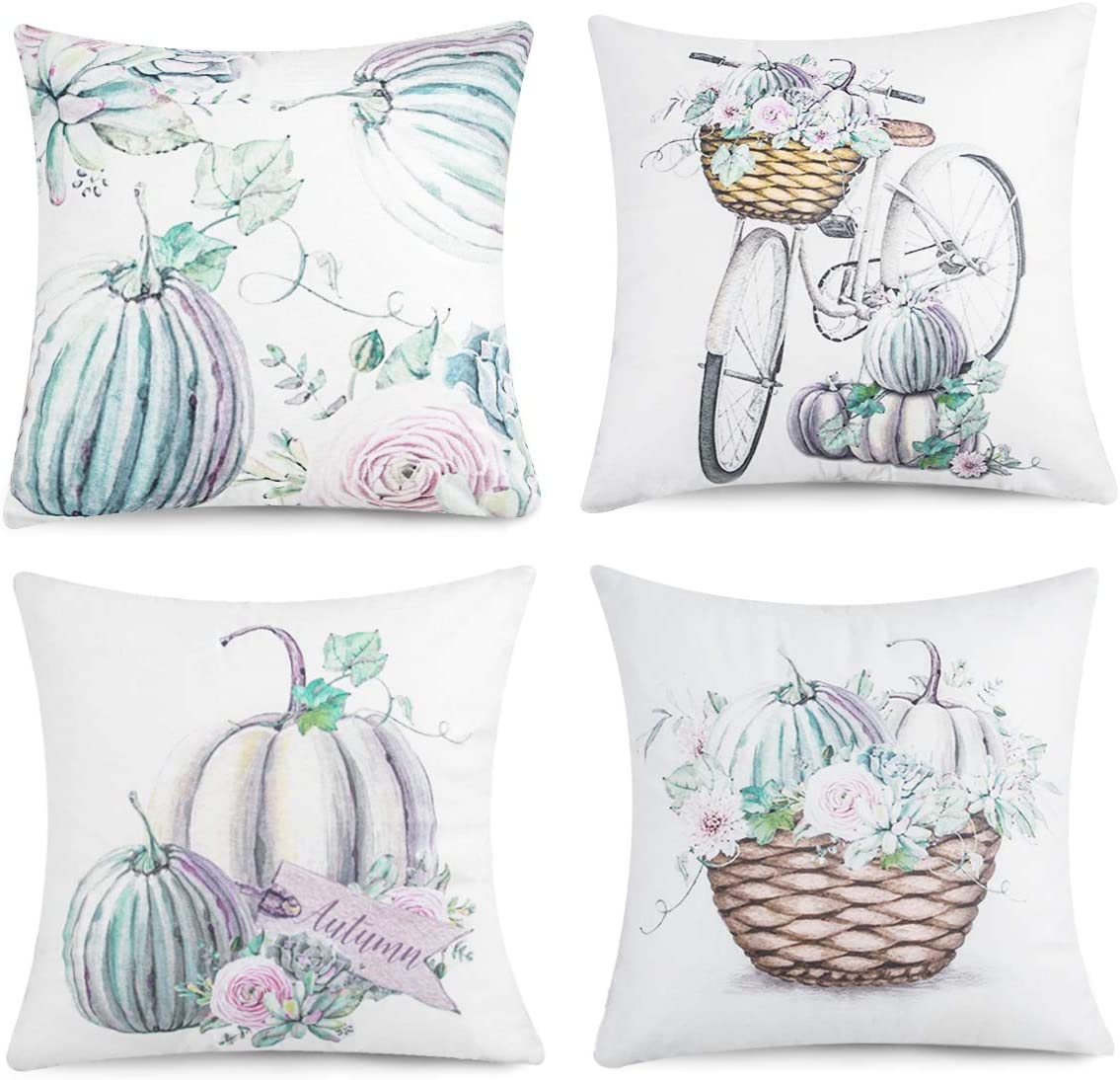 Joyhalo Fall Pillow Covers 20x20 Set of 20 Clearance Outdoor Fall Throw  Pillow Covers Farmhouse Pumpkin Decorative Pillows Cushion Cases for Home  ...