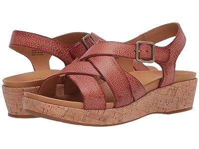 Kork-Ease Caroleigh (Rust Full Grain Leather) Women
