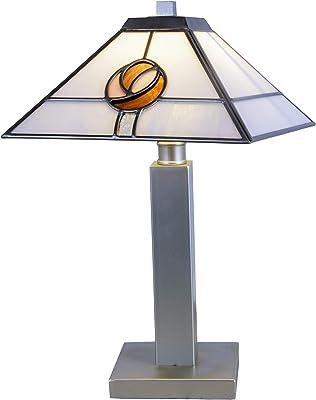 Dale Tiffany Lamps STT19050 Mack Rose Tiffany Table Lamp, Silver