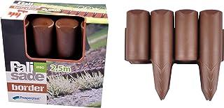 comprar comparacion INTEPLAS - Bordura Polipropi Chocolate Inteplas 13Cmx2,5Mt