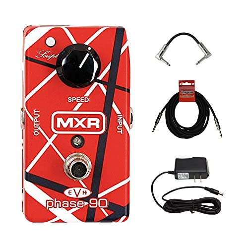 MXR Eddie Van Halen Phase 90 Pedal Guitar Pedal featuring Wide Range of Sounds with AC