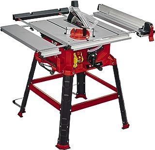 Einhell Sierra de mesa circular TC-TS 2225 U (máx. 2200 W, arranque suave, Ø254 x ø30 mm hoja, tope paralelo/angular, ajuste de altura hasta 80 mm, prolongación y ensanchamiento de la mesa)