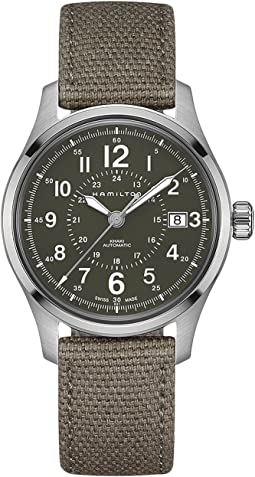 Khaki Field Auto 40mm - H70595963