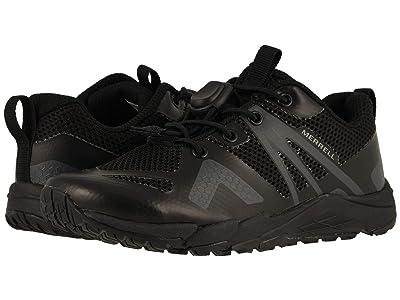 Merrell Kids MQM Flex Low (Little Kid/Big Kid) (Black/Black) Kids Shoes