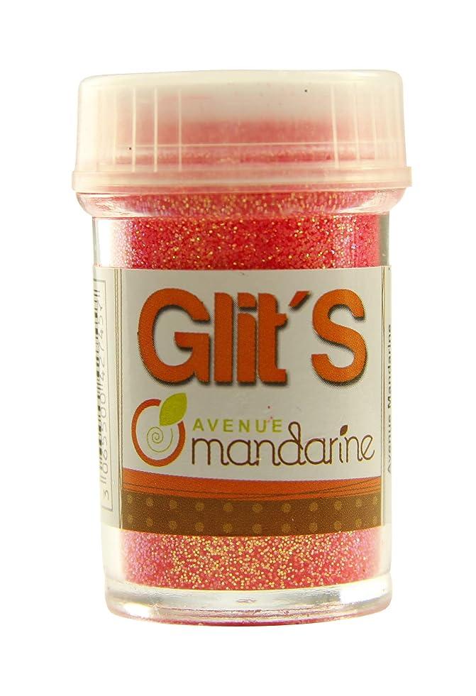 Avenue Mandarine 14 g Glitter, Fluo Orange-Pink e191401929