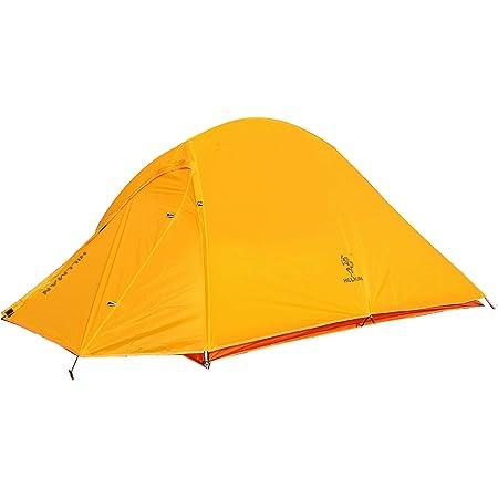 HILLMAN テント 超軽量 1.45kg 1-2人用 登山専用 二重層 バイクキャンプ 持ちやすい アウトドア キャンプ 組み立て簡単 専用グラントシート付け