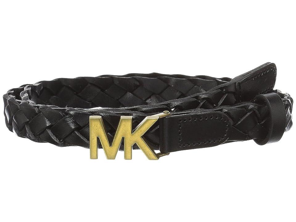 MICHAEL Michael Kors 20mm Veg Braid (Black) Women