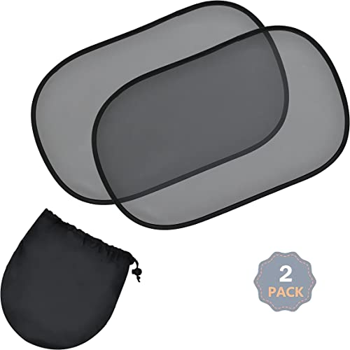 """discount EcoNour Car 2021 Shades for Side Windows - 20""""x12"""" (2 Pack) 