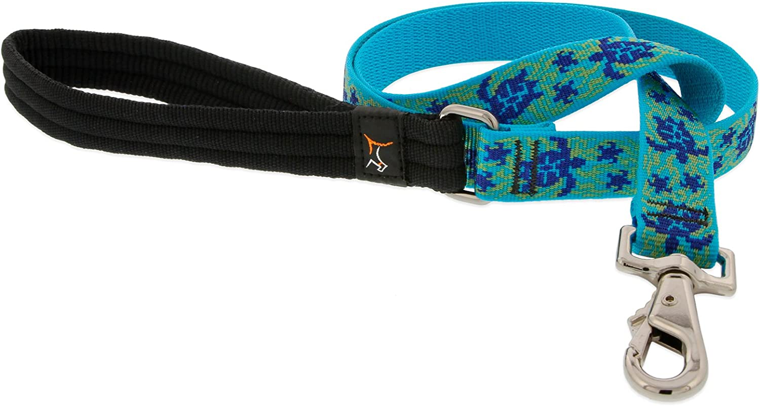 Lupine 1Inch Turtle Reef 6Foot Dog Lead