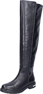 Guess Boots Womens Leather Black