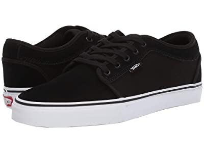 Vans Chukka Low ((Suede) Black/True White) Skate Shoes