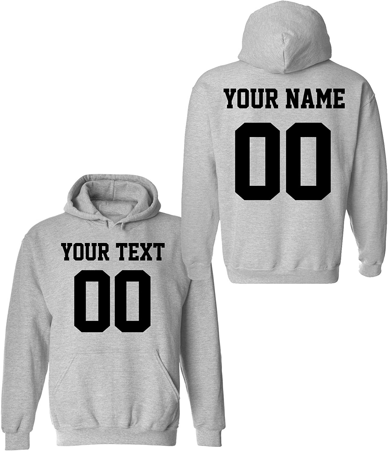 Design Your OWN Hoodie - Max 61% OFF Max 88% OFF 2 Hoodies Jersey sided Custom Pullover