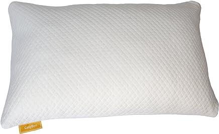 BASIC HOME zipper Pillowc Funda de Almohada TEXTURAS Algodón 100/% Color Blanco