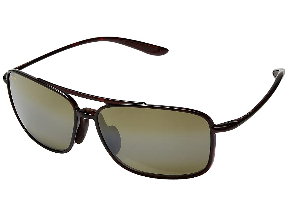 Maui Jim Kaupo Gap (Tortoise/HCL Bronze) Athletic Performance Sport Sunglasses