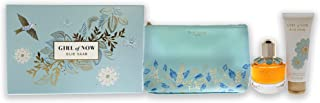 Elie Saab Girl Of Now Eau De Parfum, 50ml + Body Lotion, 75ml + Trousse Pouch Travel Set