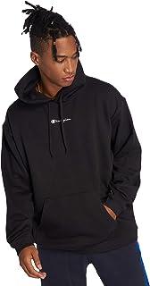 Champion Men's Classic Small Logo Hooded Sweatshirt