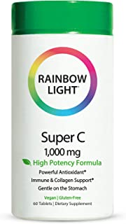 Rainbow Light Super C 1000 mg, 60-Count