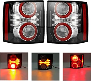 WCHAOEN Rear Left/Right Car LED Tail Light Assembly with Bulb for Land Rover Range Rover 2010-2012 New car light (Color : Left)
