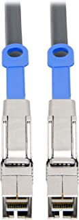 Tripp Lite Mini SAS External HD Cable, SFF-8644 to SFF-8644 Cable, 12 Gbps, 2 m. (S528-02M)