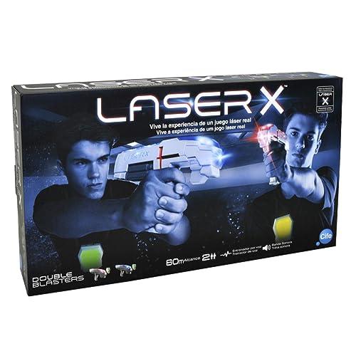 Laser-x Ensemble de deux pistolets (Glop 98139)