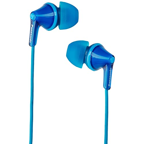 Panasonic RP-HJE125-A Wired Earphones, Blue