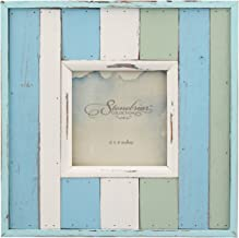 Stonebriar 4x4 Photo Frame, 4 by 4-Inch, Blue